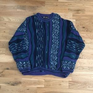 Vintage 90's Tundra Canada Knit 3D Men's Sweater